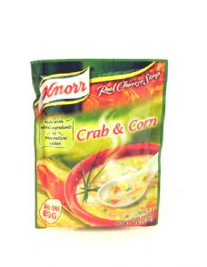 Crab & Sweetcorn Chinese Soup Mix by Knorr | Buy Online at the Asian Cook Shop